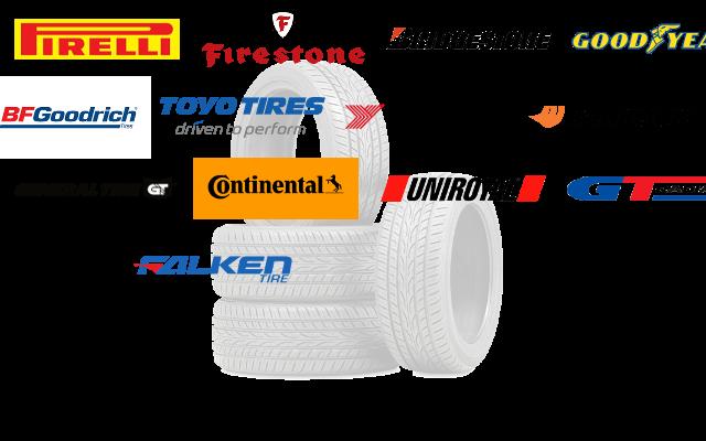 tires logos