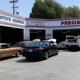 Precision Auto Repair and Tires work area